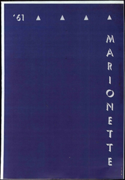 Page 1, 1961 Edition, Marion University - Marionette Yearbook (Marion, IN) online yearbook collection