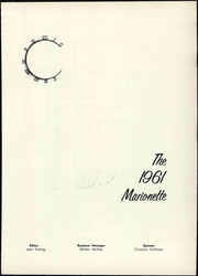 Page 7, 1961 Edition, Marion University - Marionette Yearbook (Marion, IN) online yearbook collection