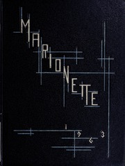 1963 Edition, Marion University - Marionette Yearbook (Marion, IN)