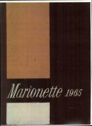 1965 Edition, Marion University - Marionette Yearbook (Marion, IN)