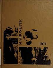 1971 Edition, Marion University - Marionette Yearbook (Marion, IN)