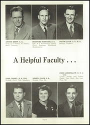 Page 10, 1950 Edition, Baugo Township High School - School Bell Echoes Yearbook (Elkhart, IN) online yearbook collection