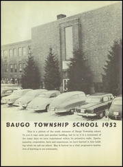 Page 10, 1952 Edition, Baugo Township High School - School Bell Echoes Yearbook (Elkhart, IN) online yearbook collection