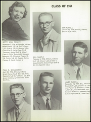 Page 36, 1954 Edition, Baugo Township High School - School Bell Echoes Yearbook (Elkhart, IN) online yearbook collection