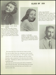 Page 38, 1954 Edition, Baugo Township High School - School Bell Echoes Yearbook (Elkhart, IN) online yearbook collection