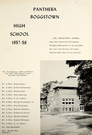 Page 5, 1958 Edition, Boggstown High School - Panthera Yearbook (Boggstown, IN) online yearbook collection