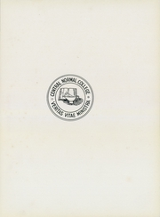 Page 7, 1938 Edition, Central Normal College - Centralian Yearbook (Danville, IN) online yearbook collection