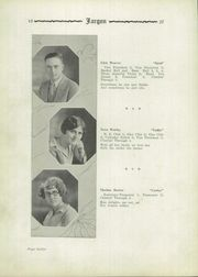 Page 16, 1927 Edition, Judyville High School - Jargon Yearbook (Judyville, IN) online yearbook collection