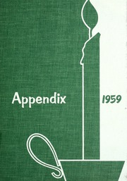 1959 Edition, Lutheran Hospital School of Nursing - Appendix Yearbook (Fort Wayne, IN)