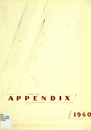 1960 Edition, Lutheran Hospital School of Nursing - Appendix Yearbook (Fort Wayne, IN)