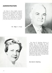 Page 12, 1960 Edition, Lutheran Hospital School of Nursing - Appendix Yearbook (Fort Wayne, IN) online yearbook collection