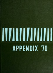 1970 Edition, Lutheran Hospital School of Nursing - Appendix Yearbook (Fort Wayne, IN)