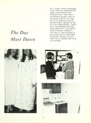 Page 17, 1970 Edition, Lutheran Hospital School of Nursing - Appendix Yearbook (Fort Wayne, IN) online yearbook collection