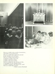 Page 9, 1970 Edition, Lutheran Hospital School of Nursing - Appendix Yearbook (Fort Wayne, IN) online yearbook collection