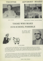 Page 8, 1956 Edition, Pine Township High School - Eagle Yearbook (Otterbein, IN) online yearbook collection