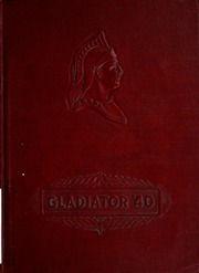 1940 Edition, Rome City High School - Gladiator Yearbook (Rome City, IN)