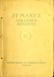 Page 1, 1915 Edition, Saint Marys College - Blue Mantle Yearbook (Notre Dame, IN) online yearbook collection