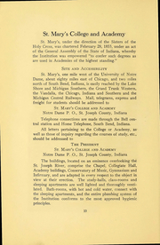 Page 16, 1915 Edition, Saint Marys College - Blue Mantle Yearbook (Notre Dame, IN) online yearbook collection