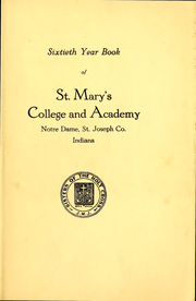 Page 2, 1915 Edition, Saint Marys College - Blue Mantle Yearbook (Notre Dame, IN) online yearbook collection
