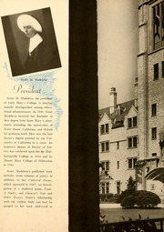 Page 12, 1948 Edition, Saint Marys College - Blue Mantle Yearbook (Notre Dame, IN) online yearbook collection