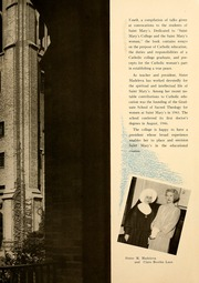 Page 13, 1948 Edition, Saint Marys College - Blue Mantle Yearbook (Notre Dame, IN) online yearbook collection