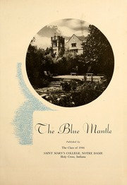 Page 5, 1948 Edition, Saint Marys College - Blue Mantle Yearbook (Notre Dame, IN) online yearbook collection