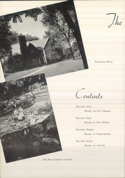Page 10, 1952 Edition, Saint Marys College - Blue Mantle Yearbook (Notre Dame, IN) online yearbook collection
