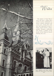 Page 8, 1952 Edition, Saint Marys College - Blue Mantle Yearbook (Notre Dame, IN) online yearbook collection