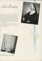 Page 9, 1952 Edition, Saint Marys College - Blue Mantle Yearbook (Notre Dame, IN) online yearbook collection