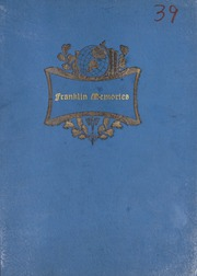 Franklin High School - Retrospect Yearbook (Mount Airy, NC) online yearbook collection, 1939 Edition, Page 1