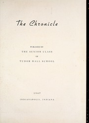 Page 5, 1947 Edition, Tudor Hall School - Chronicle Yearbook (Indianapolis, IN) online yearbook collection