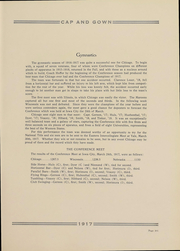 Page 307, 1917 Edition, University of Chicago - Cap and Gown Yearbook (Chicago, IL) online yearbook collection