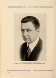 Page 322, 1917 Edition, University of Chicago - Cap and Gown Yearbook (Chicago, IL) online yearbook collection