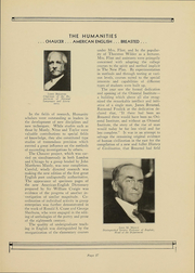 Page 17, 1932 Edition, University of Chicago - Cap and Gown Yearbook (Chicago, IL) online yearbook collection