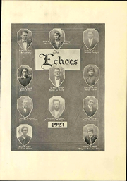Page 9, 1927 Edition, Anderson University - Echoes Yearbook (Anderson, IN) online yearbook collection