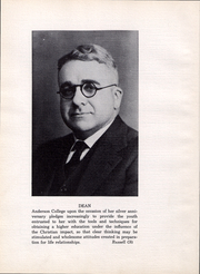 Page 13, 1942 Edition, Anderson University - Echoes Yearbook (Anderson, IN) online yearbook collection