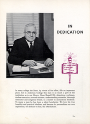 Page 11, 1943 Edition, Anderson University - Echoes Yearbook (Anderson, IN) online yearbook collection