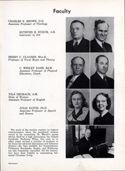 Page 18, 1943 Edition, Anderson University - Echoes Yearbook (Anderson, IN) online yearbook collection