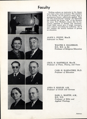 Page 19, 1943 Edition, Anderson University - Echoes Yearbook (Anderson, IN) online yearbook collection