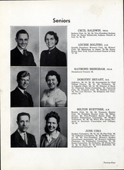 Page 25, 1943 Edition, Anderson University - Echoes Yearbook (Anderson, IN) online yearbook collection