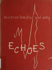 1960 Edition, Anderson University - Echoes Yearbook (Anderson, IN)