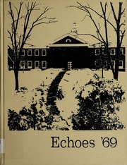 1969 Edition, Anderson University - Echoes Yearbook (Anderson, IN)