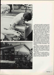 Page 11, 1978 Edition, Anderson University - Echoes Yearbook (Anderson, IN) online yearbook collection