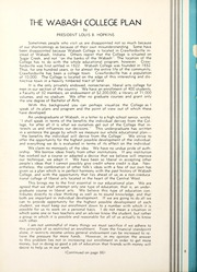 Page 12, 1933 Edition, Wabash College - Wabash Yearbook (Crawfordsville, IN) online yearbook collection