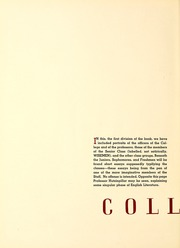 Page 12, 1937 Edition, Wabash College - Wabash Yearbook (Crawfordsville, IN) online yearbook collection