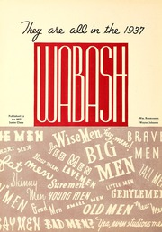 Page 6, 1937 Edition, Wabash College - Wabash Yearbook (Crawfordsville, IN) online yearbook collection