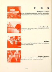 Page 16, 1939 Edition, Wabash College - Wabash Yearbook (Crawfordsville, IN) online yearbook collection