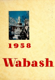 Page 1, 1958 Edition, Wabash College - Wabash Yearbook (Crawfordsville, IN) online yearbook collection