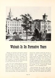 Page 10, 1958 Edition, Wabash College - Wabash Yearbook (Crawfordsville, IN) online yearbook collection