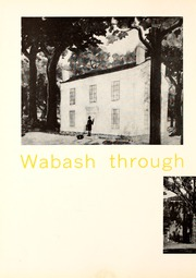 Page 6, 1958 Edition, Wabash College - Wabash Yearbook (Crawfordsville, IN) online yearbook collection